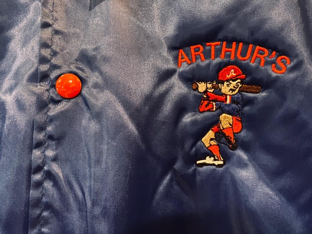 マグネッツ神戸店 8/8(土)Made in U.S.A. Nylon/Satin Varsity Jacket入荷! #3 Chain Stitch!!!_c0078587_15330973.jpg