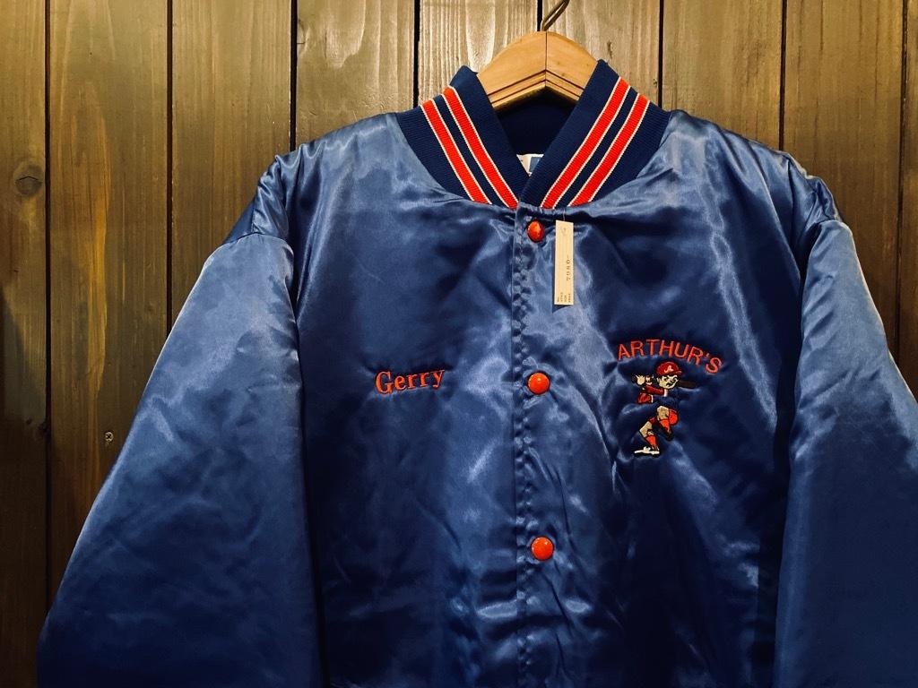 マグネッツ神戸店 8/8(土)Made in U.S.A. Nylon/Satin Varsity Jacket入荷! #3 Chain Stitch!!!_c0078587_15331021.jpg