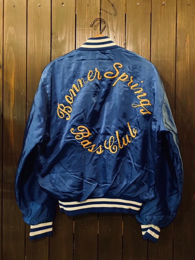 マグネッツ神戸店 8/8(土)Made in U.S.A. Nylon/Satin Varsity Jacket入荷! #3 Chain Stitch!!!_c0078587_15344433.jpg
