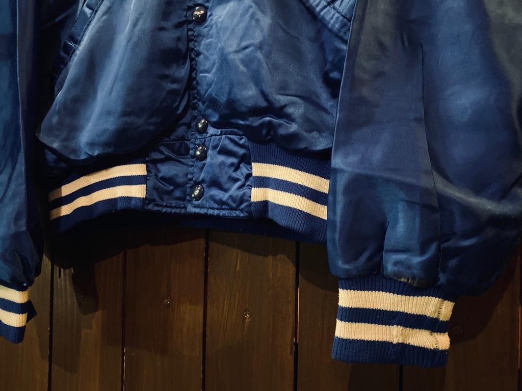 マグネッツ神戸店 8/8(土)Made in U.S.A. Nylon/Satin Varsity Jacket入荷! #3 Chain Stitch!!!_c0078587_15350617.jpg
