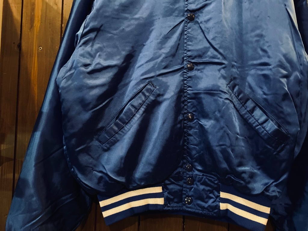 マグネッツ神戸店 8/8(土)Made in U.S.A. Nylon/Satin Varsity Jacket入荷! #3 Chain Stitch!!!_c0078587_15350630.jpg