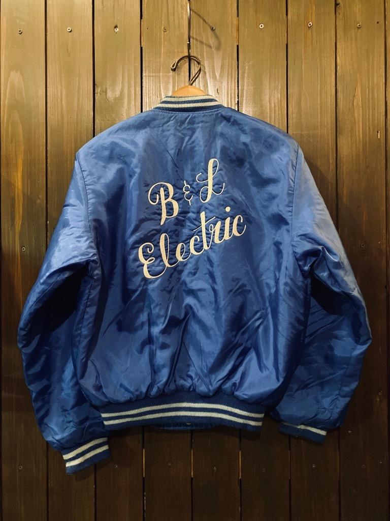 マグネッツ神戸店 8/8(土)Made in U.S.A. Nylon/Satin Varsity Jacket入荷! #3 Chain Stitch!!!_c0078587_15352733.jpg