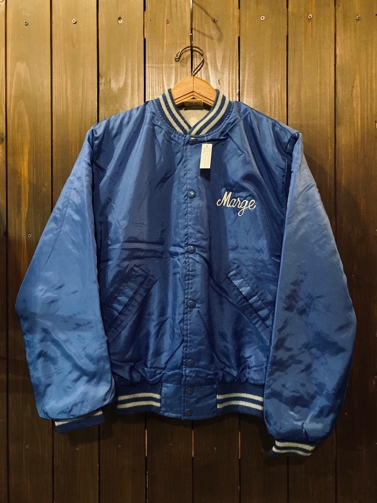 マグネッツ神戸店 8/8(土)Made in U.S.A. Nylon/Satin Varsity Jacket入荷! #3 Chain Stitch!!!_c0078587_15352768.jpg