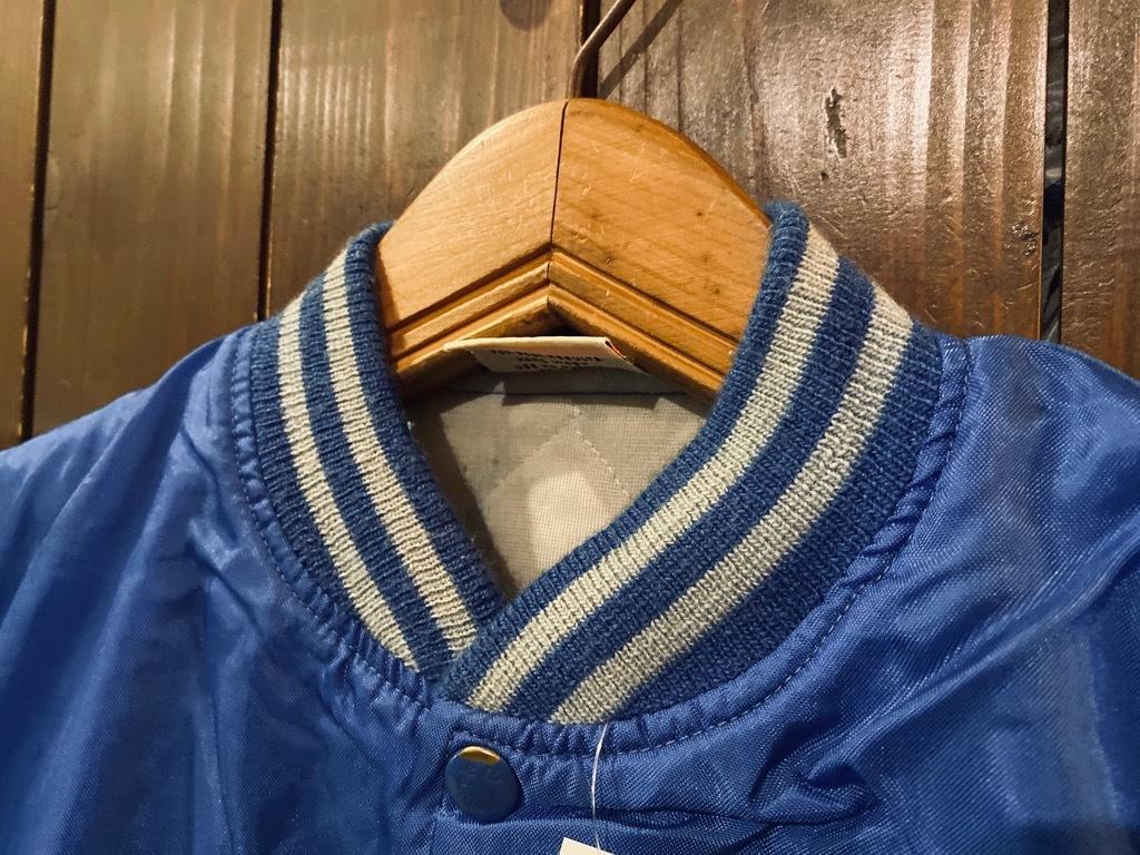 マグネッツ神戸店 8/8(土)Made in U.S.A. Nylon/Satin Varsity Jacket入荷! #3 Chain Stitch!!!_c0078587_15354854.jpg
