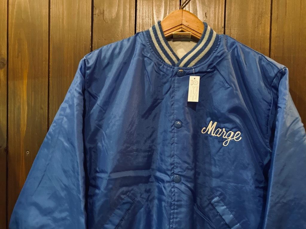 マグネッツ神戸店 8/8(土)Made in U.S.A. Nylon/Satin Varsity Jacket入荷! #3 Chain Stitch!!!_c0078587_15354894.jpg