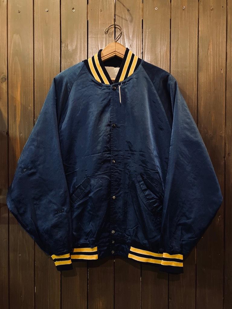 マグネッツ神戸店 8/8(土)Made in U.S.A. Nylon/Satin Varsity Jacket入荷! #3 Chain Stitch!!!_c0078587_15360847.jpg