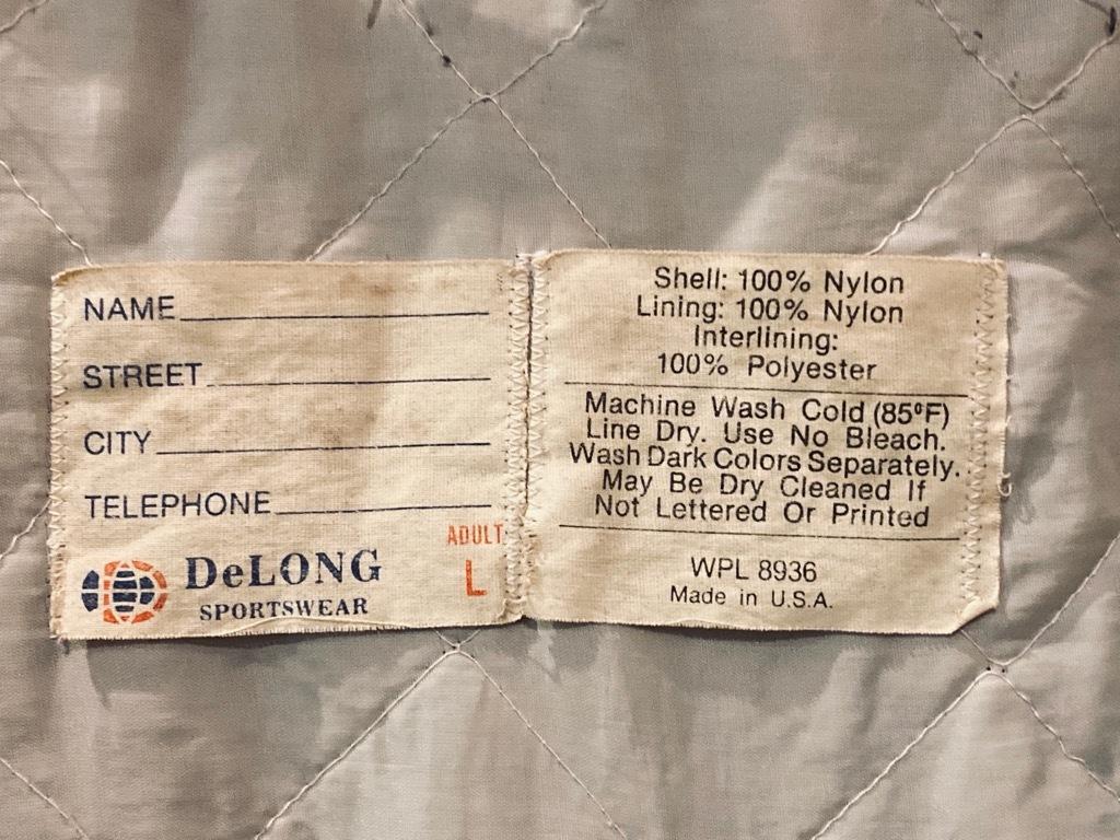 マグネッツ神戸店 8/8(土)Made in U.S.A. Nylon/Satin Varsity Jacket入荷! #3 Chain Stitch!!!_c0078587_15360915.jpg