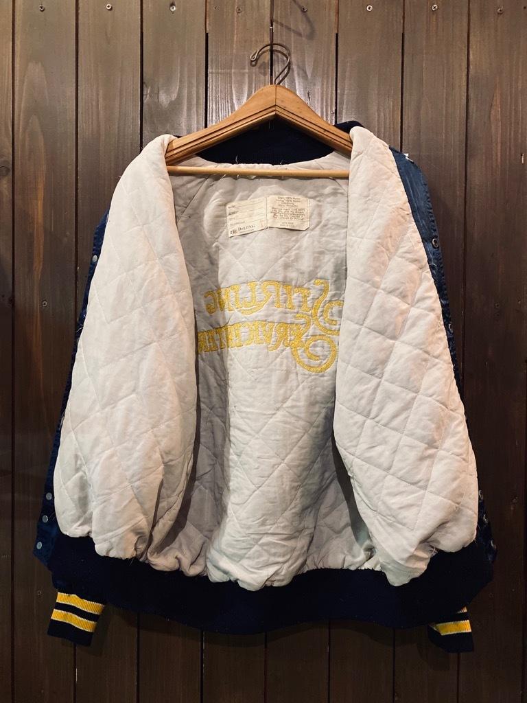 マグネッツ神戸店 8/8(土)Made in U.S.A. Nylon/Satin Varsity Jacket入荷! #3 Chain Stitch!!!_c0078587_15360946.jpg
