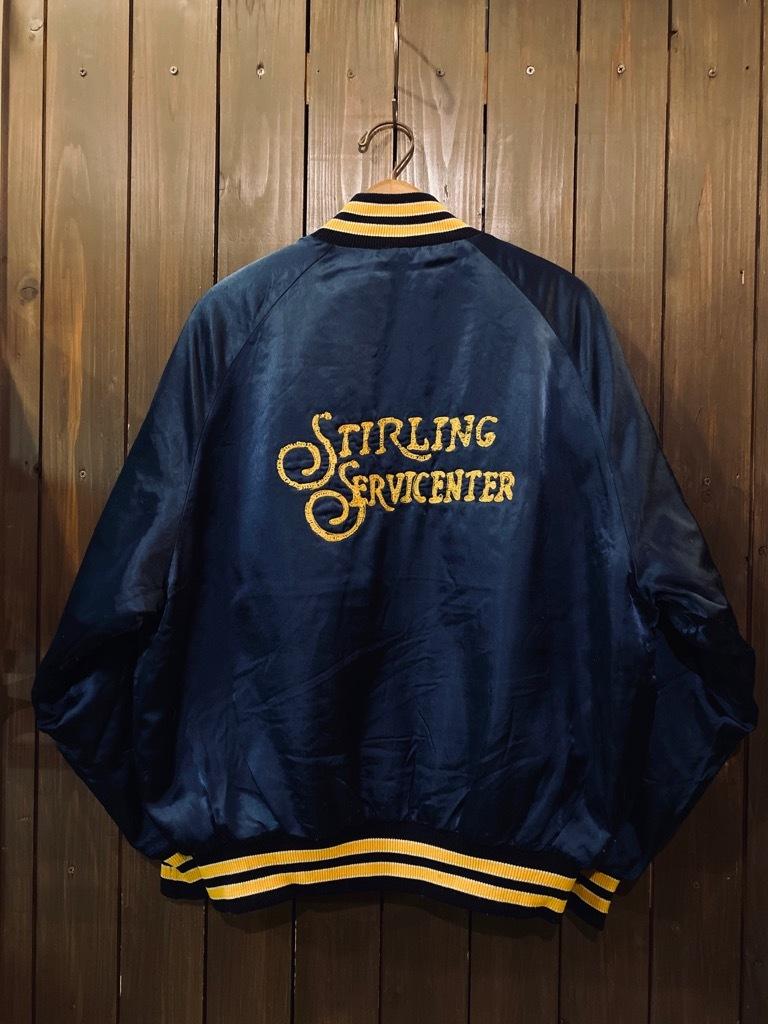 マグネッツ神戸店 8/8(土)Made in U.S.A. Nylon/Satin Varsity Jacket入荷! #3 Chain Stitch!!!_c0078587_15360982.jpg