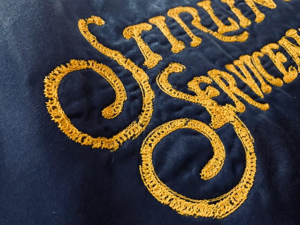 マグネッツ神戸店 8/8(土)Made in U.S.A. Nylon/Satin Varsity Jacket入荷! #3 Chain Stitch!!!_c0078587_15361594.jpg