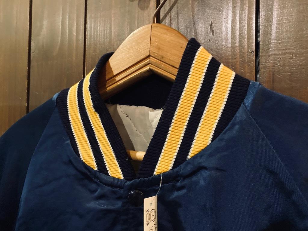 マグネッツ神戸店 8/8(土)Made in U.S.A. Nylon/Satin Varsity Jacket入荷! #3 Chain Stitch!!!_c0078587_15363876.jpg