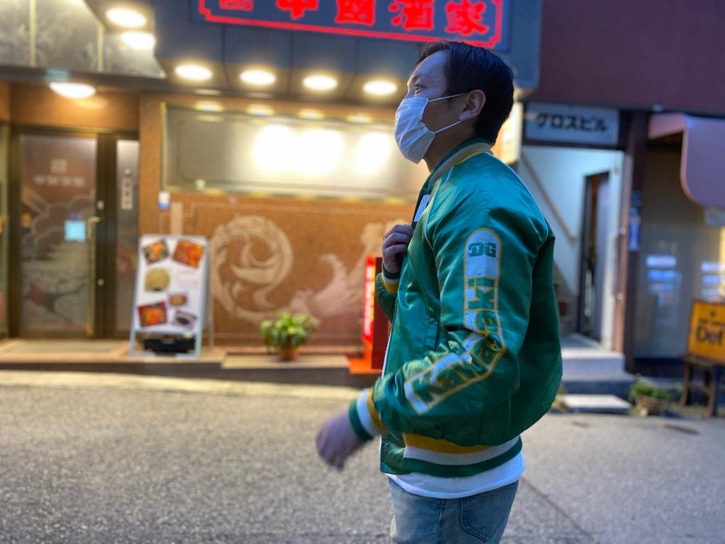 マグネッツ神戸店 8/8(土)Made in U.S.A. Nylon/Satin Varsity Jacket入荷! #1 Satin Varsity JKT!!!_c0078587_21133704.jpg
