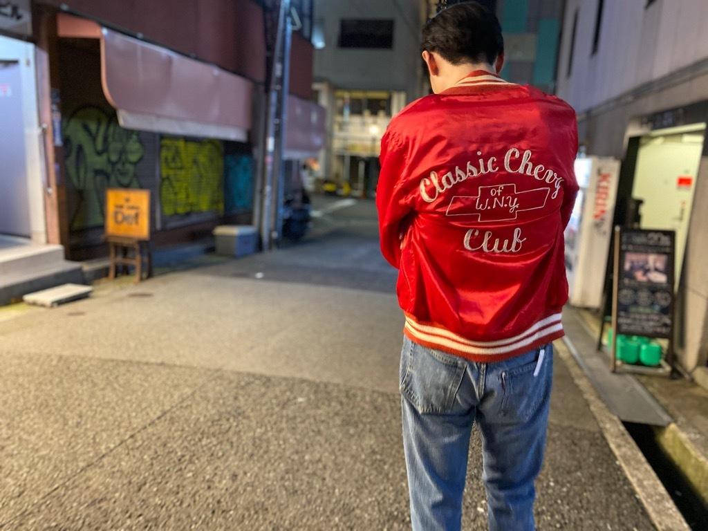マグネッツ神戸店 8/8(土)Made in U.S.A. Nylon/Satin Varsity Jacket入荷! #1 Satin Varsity JKT!!!_c0078587_21133718.jpg