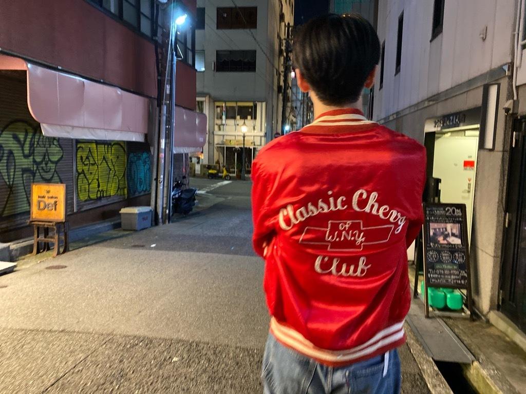 マグネッツ神戸店 8/8(土)Made in U.S.A. Nylon/Satin Varsity Jacket入荷! #1 Satin Varsity JKT!!!_c0078587_21133780.jpg