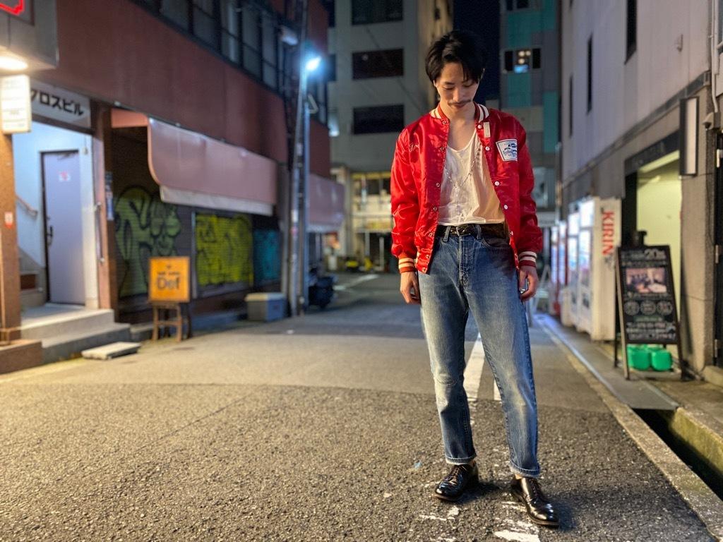 マグネッツ神戸店 8/8(土)Made in U.S.A. Nylon/Satin Varsity Jacket入荷! #1 Satin Varsity JKT!!!_c0078587_21133841.jpg