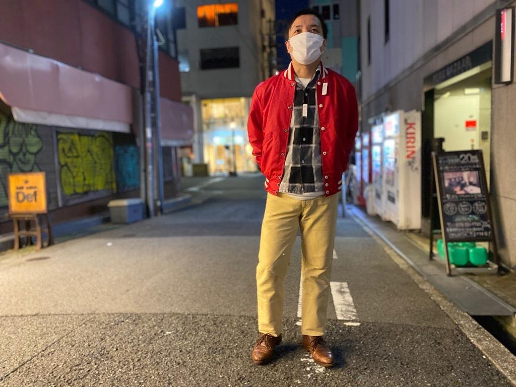 マグネッツ神戸店 8/8(土)Made in U.S.A. Nylon/Satin Varsity Jacket入荷! #2 Mat Body!!!_c0078587_21151366.jpg