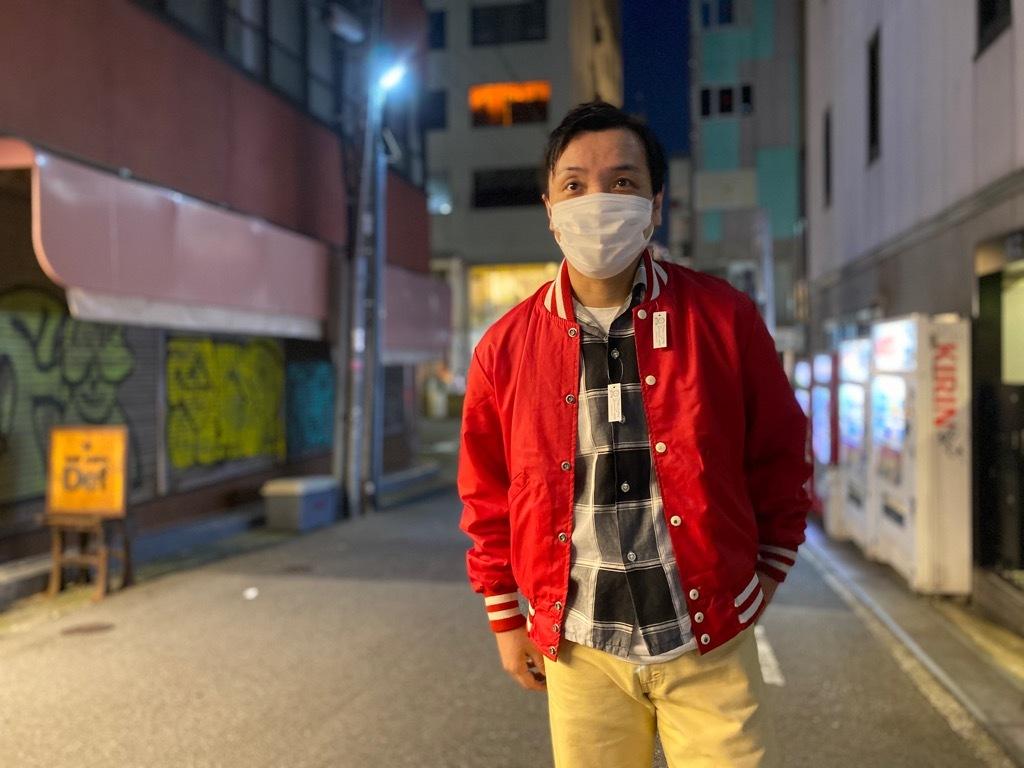 マグネッツ神戸店 8/8(土)Made in U.S.A. Nylon/Satin Varsity Jacket入荷! #2 Mat Body!!!_c0078587_21151397.jpg
