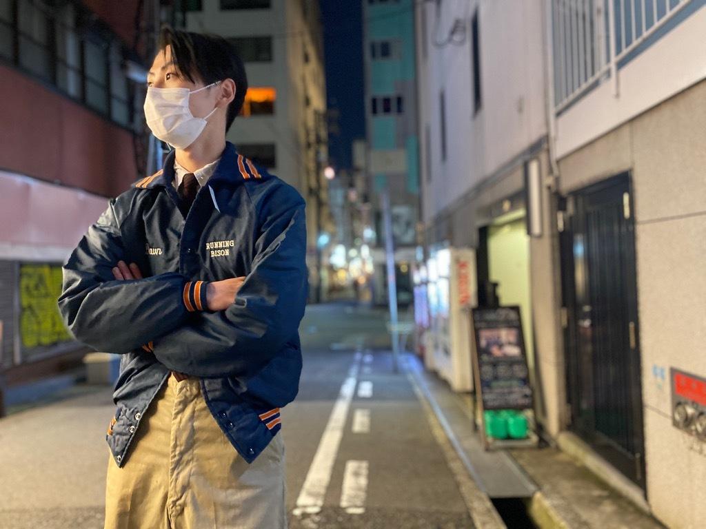 マグネッツ神戸店 8/8(土)Made in U.S.A. Nylon/Satin Varsity Jacket入荷! #2 Mat Body!!!_c0078587_21163233.jpg