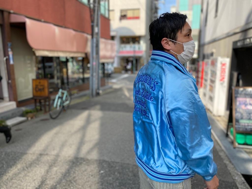 マグネッツ神戸店 8/8(土)Made in U.S.A. Nylon/Satin Varsity Jacket入荷! #3 Chain Stitch!!!_c0078587_21512759.jpg