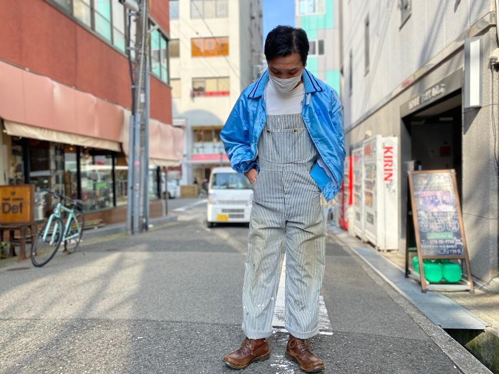 マグネッツ神戸店 8/8(土)Made in U.S.A. Nylon/Satin Varsity Jacket入荷! #3 Chain Stitch!!!_c0078587_21512779.jpg