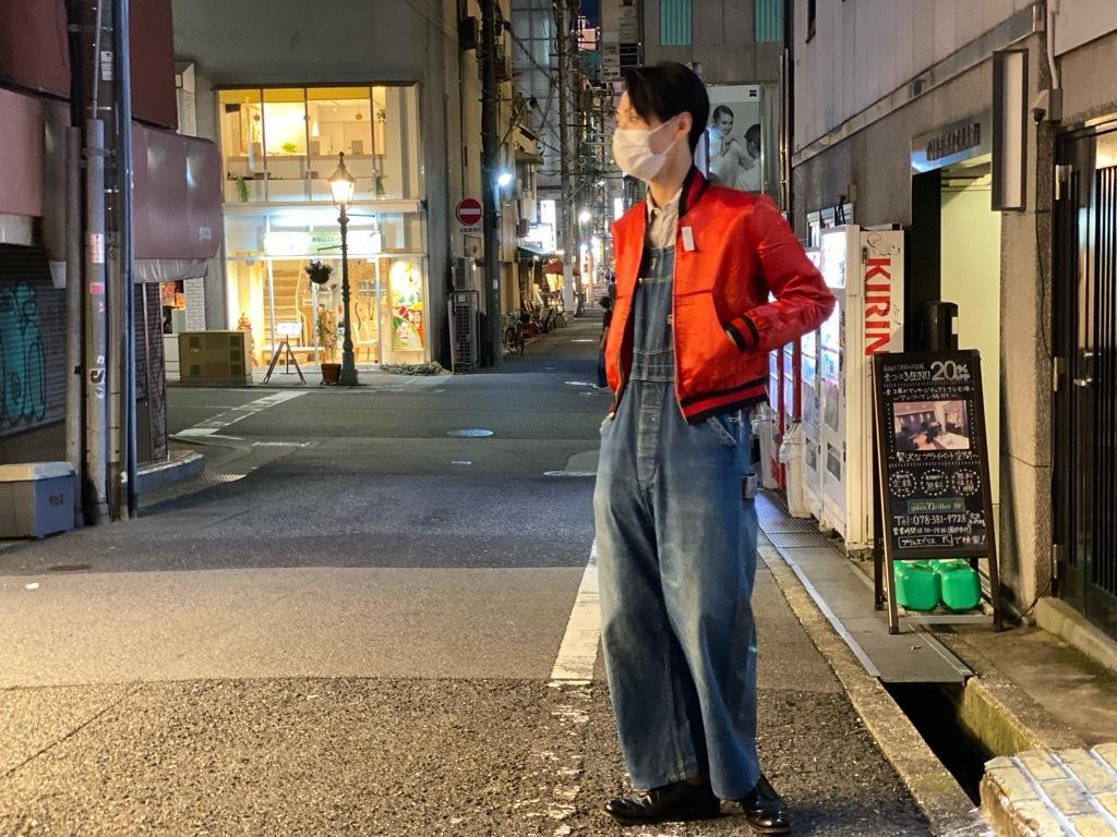 マグネッツ神戸店 8/8(土)Made in U.S.A. Nylon/Satin Varsity Jacket入荷! #3 Chain Stitch!!!_c0078587_21513430.jpg