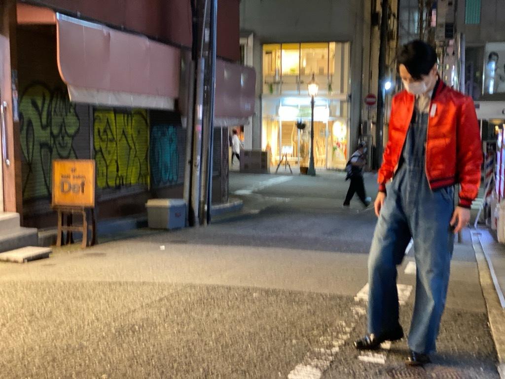 マグネッツ神戸店 8/8(土)Made in U.S.A. Nylon/Satin Varsity Jacket入荷! #3 Chain Stitch!!!_c0078587_21513452.jpg