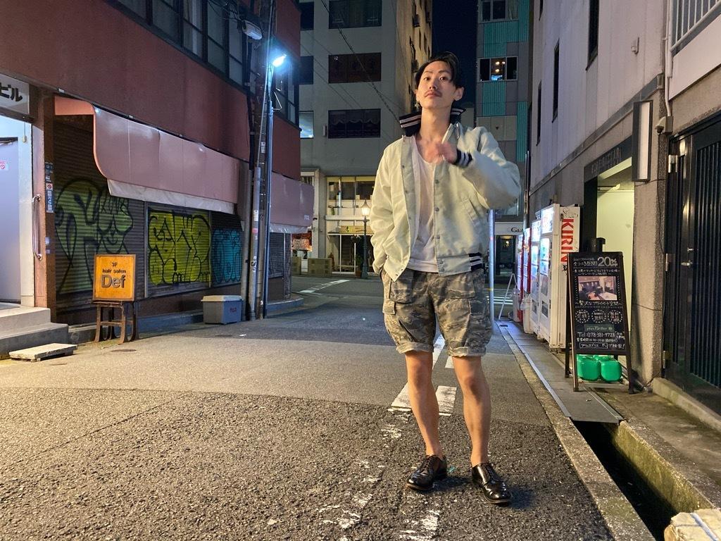 マグネッツ神戸店 8/8(土)Varsity Jacket入荷! #4 Black & White!!!_c0078587_21534734.jpg