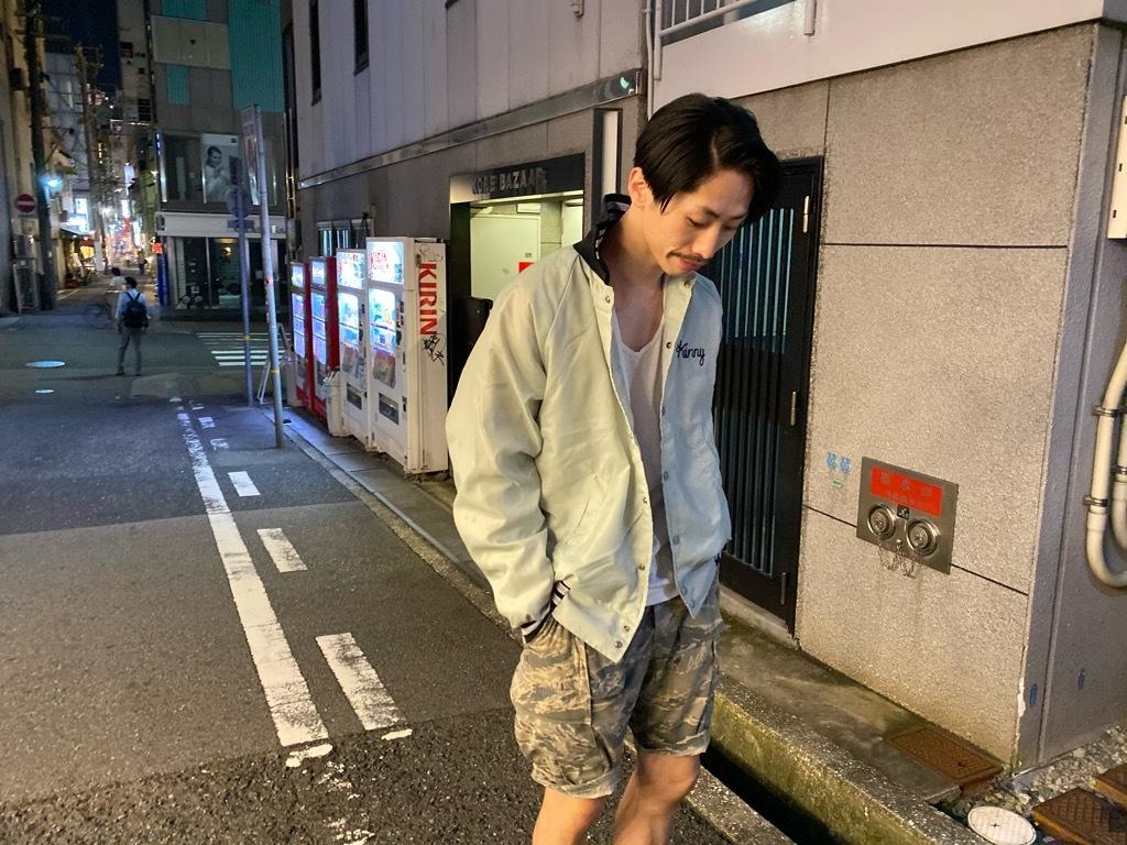 マグネッツ神戸店 8/8(土)Varsity Jacket入荷! #4 Black & White!!!_c0078587_21534746.jpg