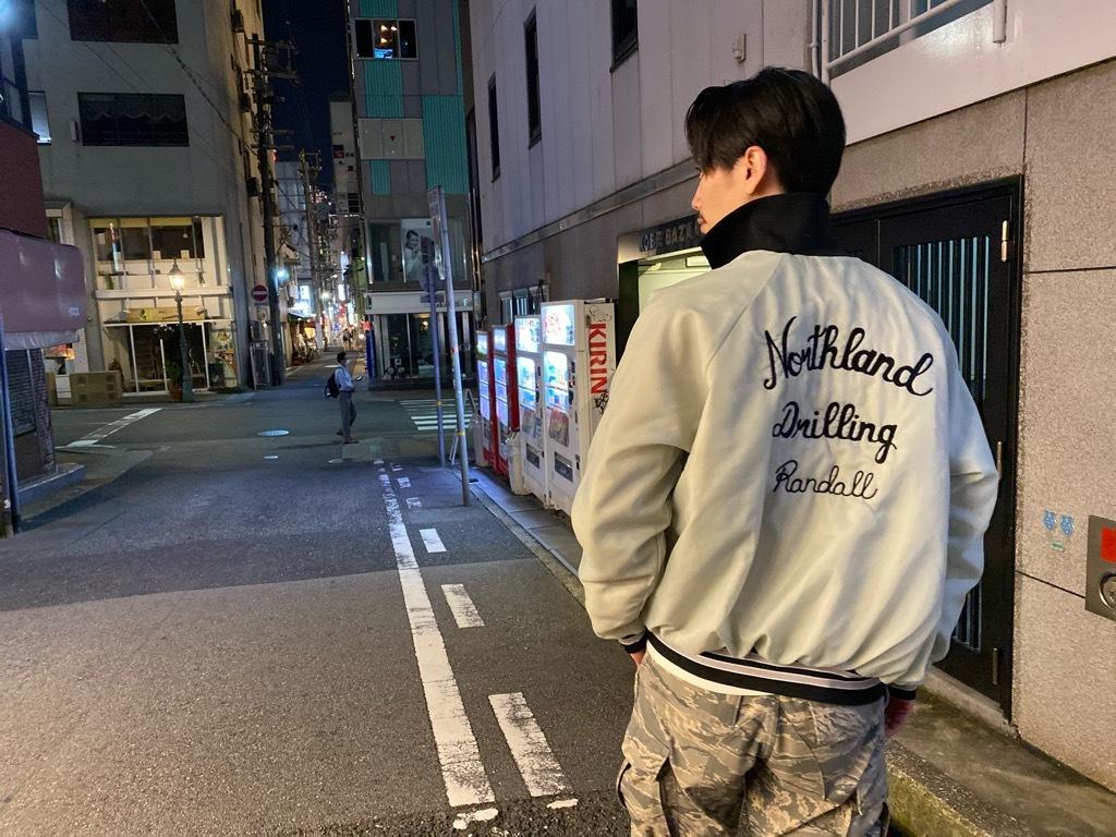 マグネッツ神戸店 8/8(土)Varsity Jacket入荷! #4 Black & White!!!_c0078587_21534855.jpg