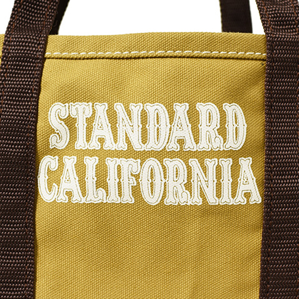 【DELIVERY】 STANDARD CALIFORNIA - Made in USA Canvas Shoulder Bag_a0076701_17093274.jpg