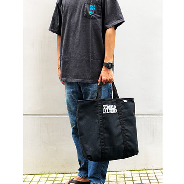 【DELIVERY】 STANDARD CALIFORNIA - Made in USA Canvas Shoulder Bag_a0076701_17104417.jpg