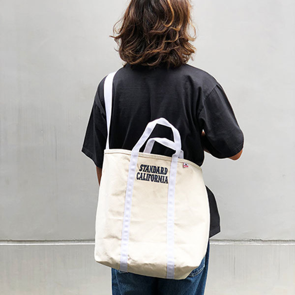 【DELIVERY】 STANDARD CALIFORNIA - Made in USA Canvas Shoulder Bag_a0076701_17105472.jpg