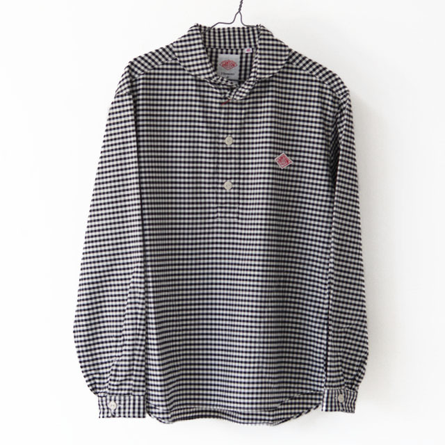 DANTON [ダントン] M\'s L/S OXFORD PLAID SHIRTS [JD-3568TRD] 長袖シャツ・チェックシャツ・格子柄・MEN\'S _f0051306_14395498.jpg