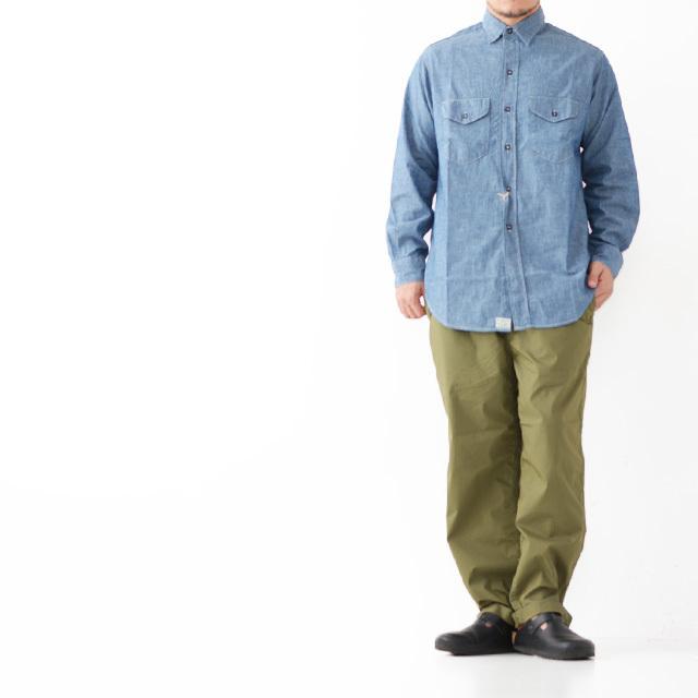 orslow [オアスロウ] M UTILITY WORK SHIRT CHAMBRAY [01-8063-84] ユーティリティー ワークシャツ ・シャンブレーシャツ・ MEN\'S _f0051306_15564077.jpg