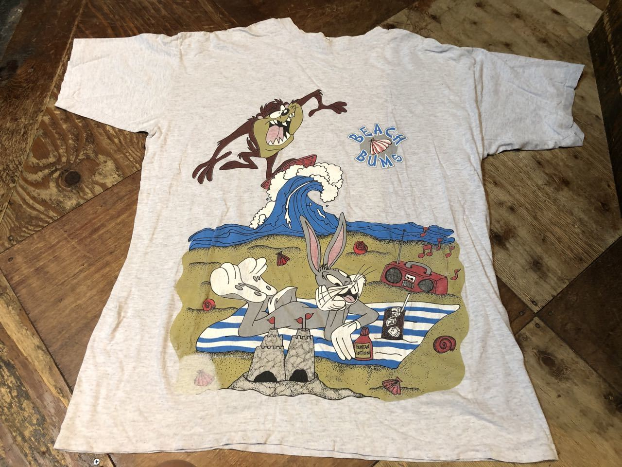 8月8日(土)入荷!MADE IN U.S.A 90s〜 LOONET TUNES Tシャツ #1_c0144020_14470913.jpg