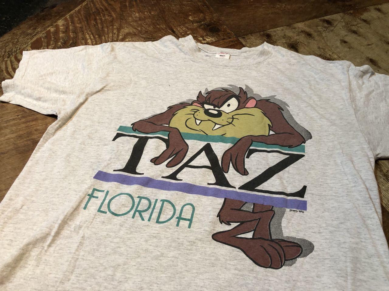 8月8日(土)入荷! MADE IN U.S.A 90s〜 LOONET TUNES ルーニーテューンズ タスマニアン デビル   Tシャツ #4_c0144020_14502861.jpg