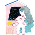 8/21~9/2 河原奈苗さん mini exhibition 【夏・夜・思】 開催のお知らせ_f0010033_13172707.jpg