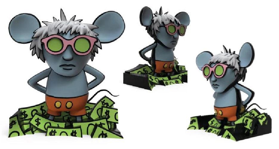 キース・ヘリングのアンディ・マウス、復活_a0077842_10371810.jpg