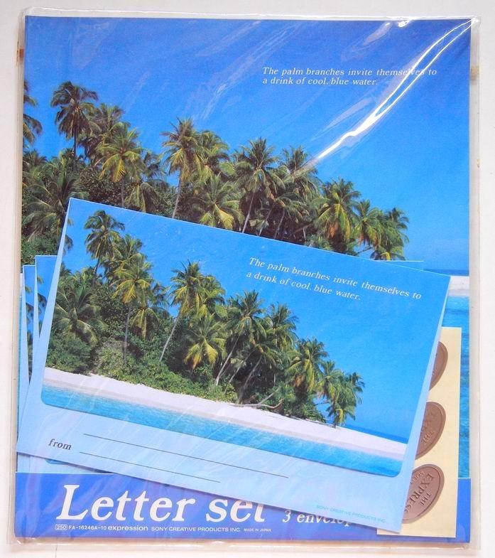 夏のレターセット_e0002769_19024054.jpg
