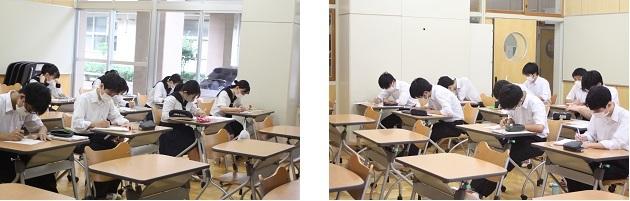 高入生3年文Bの数学Ⅱ、数学探究では難関大記述問題に対応した授業を行っています。_e0313769_12051046.jpg