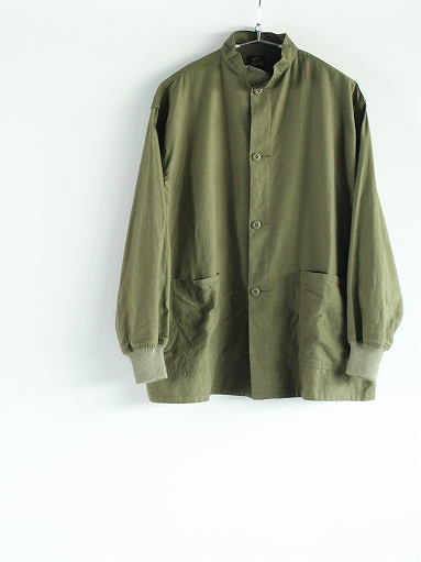 NEEDLES S.C. Army Shirt - Back Sateen_b0139281_1431502.jpg
