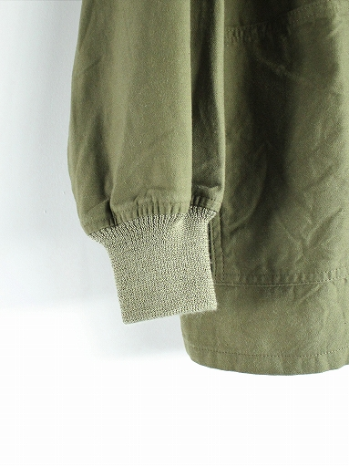 NEEDLES S.C. Army Shirt - Back Sateen_b0139281_14323939.jpg