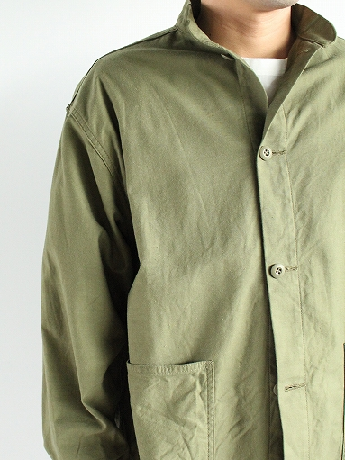 NEEDLES S.C. Army Shirt - Back Sateen_b0139281_14325974.jpg