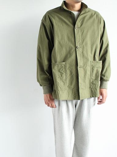 NEEDLES S.C. Army Shirt - Back Sateen_b0139281_14333239.jpg