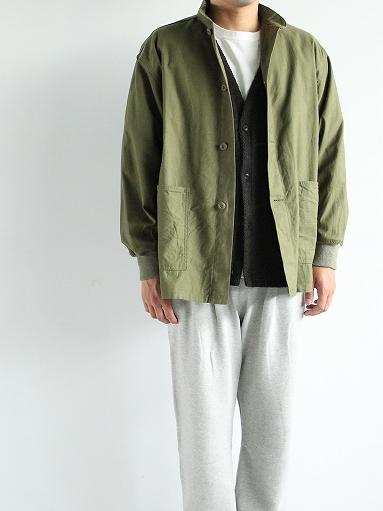 NEEDLES S.C. Army Shirt - Back Sateen_b0139281_14334536.jpg