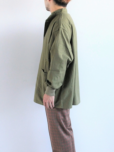 NEEDLES S.C. Army Shirt - Back Sateen_b0139281_1434926.jpg