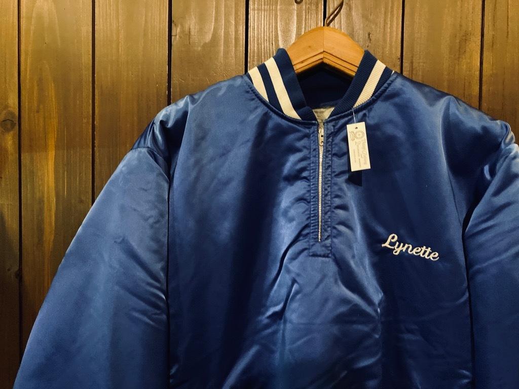 マグネッツ神戸店 8/8(土)Made in U.S.A. Nylon/Satin Varsity Jacket入荷! #1 Satin Varsity JKT!!!_c0078587_00134980.jpeg