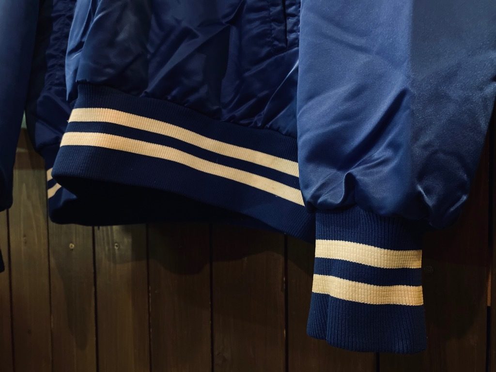 マグネッツ神戸店 8/8(土)Made in U.S.A. Nylon/Satin Varsity Jacket入荷! #1 Satin Varsity JKT!!!_c0078587_00141081.jpeg
