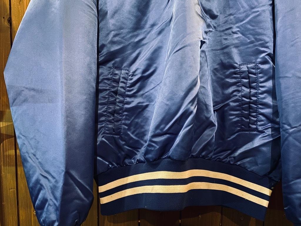 マグネッツ神戸店 8/8(土)Made in U.S.A. Nylon/Satin Varsity Jacket入荷! #1 Satin Varsity JKT!!!_c0078587_00141876.jpeg