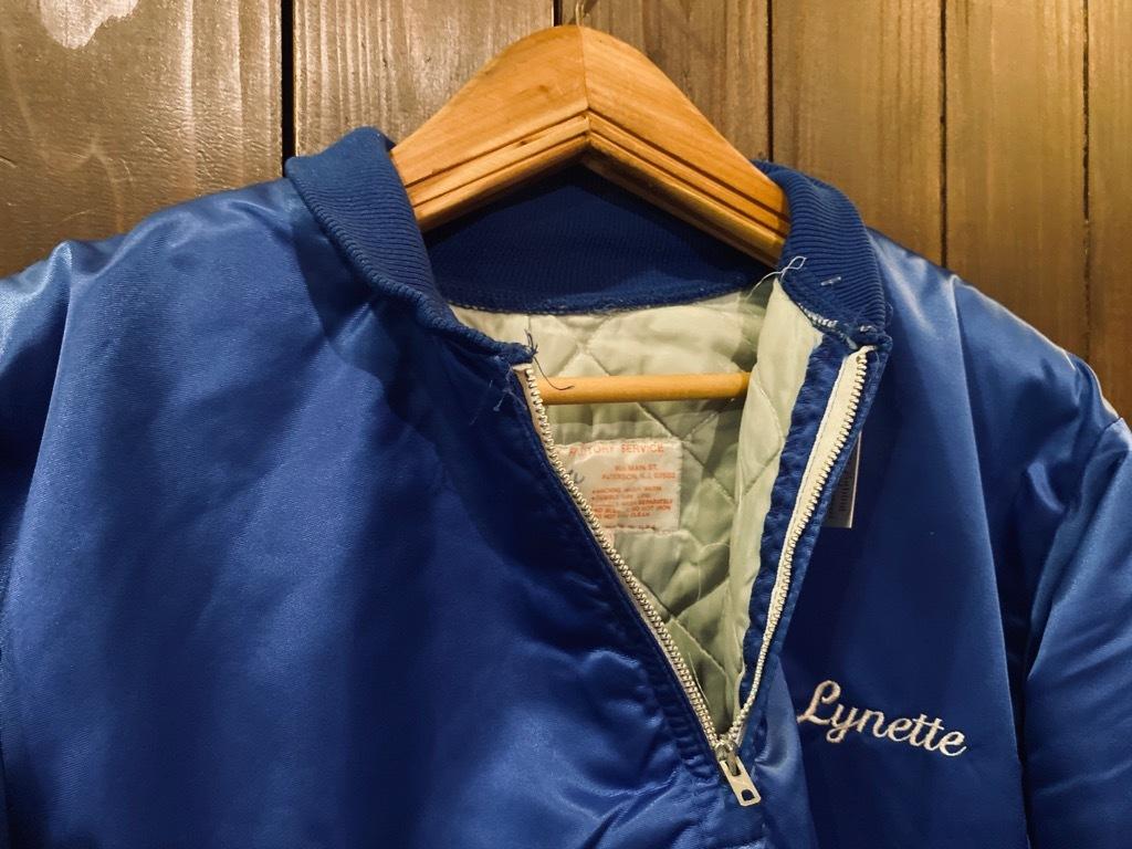 マグネッツ神戸店 8/8(土)Made in U.S.A. Nylon/Satin Varsity Jacket入荷! #1 Satin Varsity JKT!!!_c0078587_00143326.jpeg